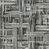 Vliesové tapety na zeď Times 3D modern šedo-stříbrné