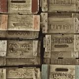 Vliesové tapety na zeď Times bedny barevné