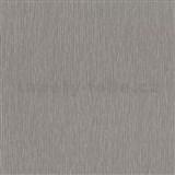 Vliesové tapety na zeď Times - strukturovaná tmavě šedá