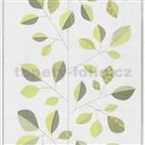 Vliesové tapety na zeď Trend Edition listy zelené