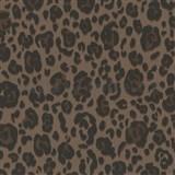 Vliesové tapety na zeď Trend Edition vzor leopard hnědý na hnědém podkladu