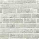 Vliesové tapety na zeď Trendwall cihla šedá