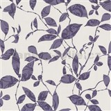 Tapety na ze� Tr�sor Reloaded - list� fialov�