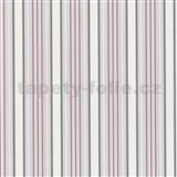 Luxusn� tapety Tr�sor - pruhy - jemn� r�ov� - SLEVA