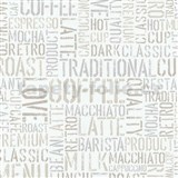 Papírové tapety na zeď Tribute - coffe krémové