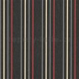 Vliesové tapety na zeď Tribute - pruhy červené, okrové, šedé