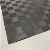 Ubrus návin 20 m x 140 cm čtverce hnědé