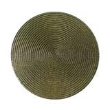 Vinylové dekorativní prostírání na stůl Ambiente zlaté 38 cm