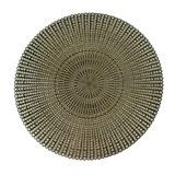 Vinylové dekorativní prostírání na stůl Deco zlaté 41 cm