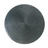 Vinylové dekorativní prostírání na stůl Deco stříbrné 41 cm
