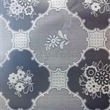 Ubrusy metráž transparentní vzor matný