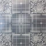 Ubrusy návin 50 m x 140 cm transparentní čtverce matné