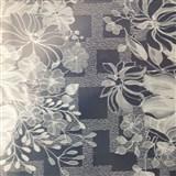 Ubrusy návin 50 m x 140 cm transparentní květiny matné