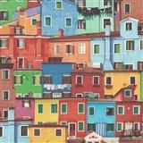 Vinylové tapety na zeď Replik Italské domy