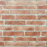 Vinylové tapety na zeď cihla červená - POSLEDNÍ KUSY