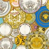 Luxusní vliesové  tapety na zeď Versace III koláž barevná