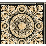 Luxusní vliesové tapety na zeď Versace IV barokní ornamenty zlato-černé