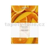 Vonný sáček vůně mango-pomeranč, 16x11cm, č.491260