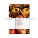 Vonný sáček vůně jablko-skořice, 16x11cm, č.491324