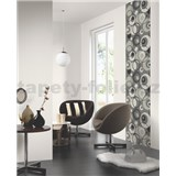 Tapetov� design panely Wall Panel - Circles Silver