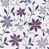 Tapety na zeď Wish květy fialové