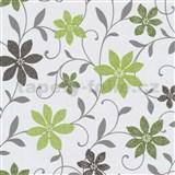 Tapety na zeď Wish květy zelené
