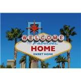 Vliesové fototapety domov sladký domov rozměr 368 cm x 254 cm