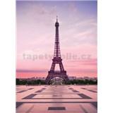 Vliesové fototapety Eiffelova věž při úsvitu rozměr 184 x 254 cm