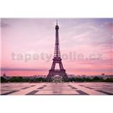 Vliesové fototapety Eiffelova věž při úsvitu rozměr 368 cm x 254 cm