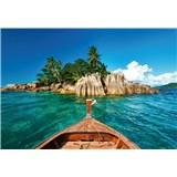 Vliesové fototapety St.Pierre ostrov na Seychelách rozměr 368 cm x 254 cm