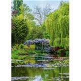Vliesové fototapety zahrada ve Francii  rozměr 184 x 254 cm