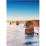 Vliesové fototapety útes při západu slunce v Austrálii rozměr 184 x 254 cm