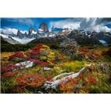 Vliesové fototapety Argentínský chalten rozměr 368 cm x 254 cm
