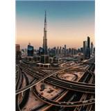 Vliesové fototapety Dubaj rozměr 184 cm x 254 cm