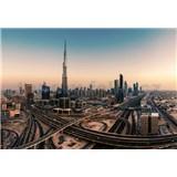 Vliesové fototapety Dubaj rozměr 368 cm cm x 254 cm