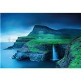 Vliesové fototapety Faerské ostrovy rozměr 368 cm cm x 254 cm