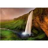 Fototapety Islandský vodopád rozměr 368 cm x 254 cm