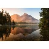 Fototapety horské jezero rozměr 368 cm x 254 cm