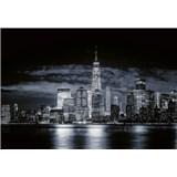 Vliesové fototapety panorama Manhattanu rozměr 368 x 254 cm