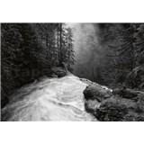 Fototapety vodopád rozměr 368 x 254 cm