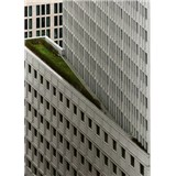 Fototapety architektura bílé výškové budovy rozměr 184 cm x 254 cm