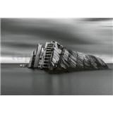 Vliesové fototapety moderní vrak rozměr 368 x 254 cm