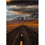 Vliesové fototapety cesta v Atacamě rozměr 184 x 254 cm
