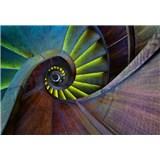 Vliesové fototapety točité schodiště rozměr 368 cm x 254 cm