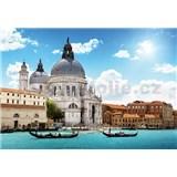 Fototapety bazilika Salute v Benátkách rozměr 368 cm x 254 cm