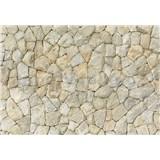 Vliesové fototapety přírodní kamenná stěna rozměr 368 cm x 254 cm