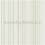 Papírové tapety na zeď X-treme Colors - proužky zelené