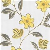 Tapety na zeď Open Air - květy žluté
