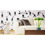 Samolepky na stěnu náladové kočky SLEVA