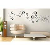 Samolepky na stěnu abstraktní kolečka